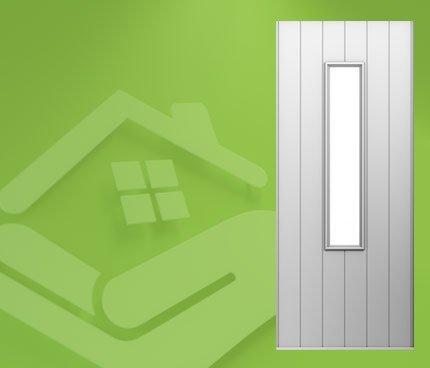 Flint Cottage Solid Doors