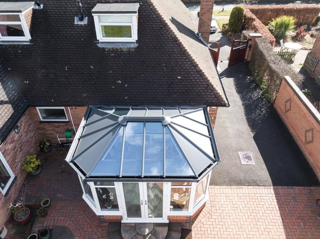 conservatory light roof installation