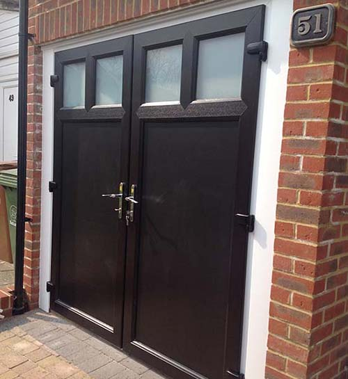 Bifold garage doors UK