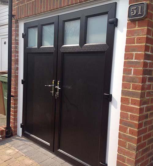 Bifold garage doors UK