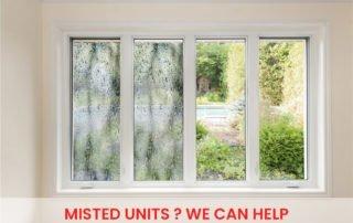 window misted units