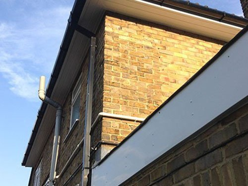 soffits and guttering