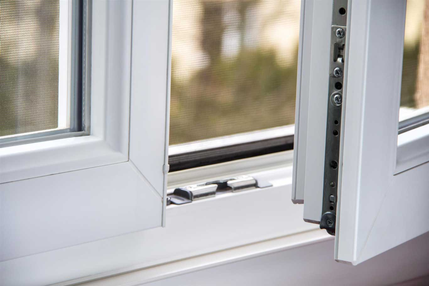Security UPVC Windows