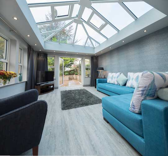 livinroof replacement conservatory design