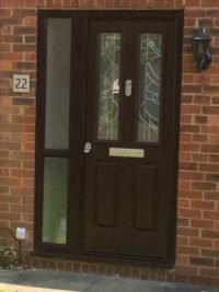 black composite doors in bromley