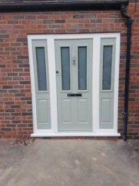composite doors side panel
