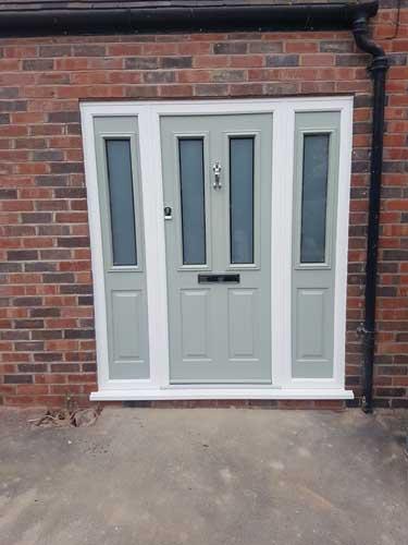 composite doors side panel