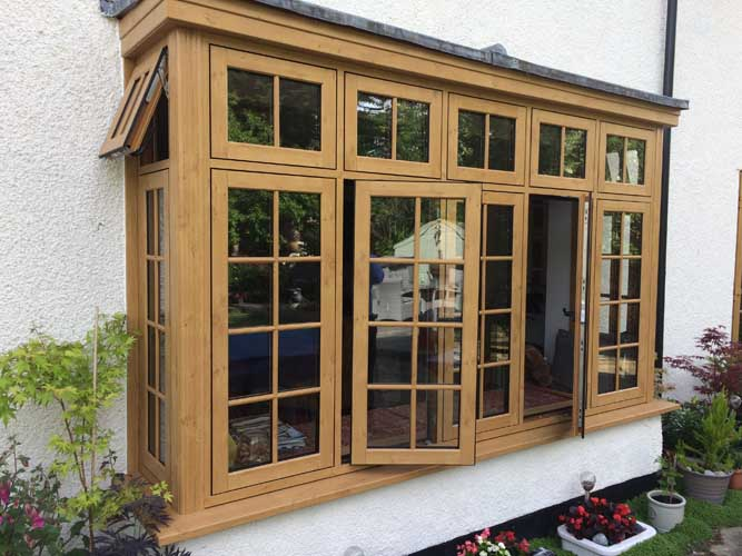 flush timber windows
