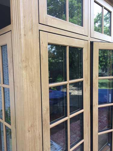 flush timber windows