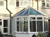 white conservatory design