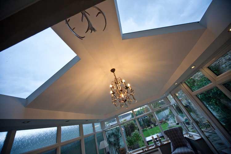 conservatory roof installation