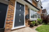 black composite doors prices