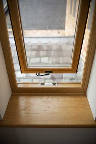flush timber fit windows