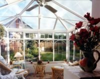 Georgian Interior White conservatory design