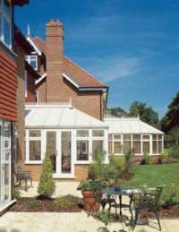 Georgian White conservatory design