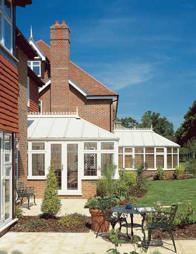 Georgian White conservatory design