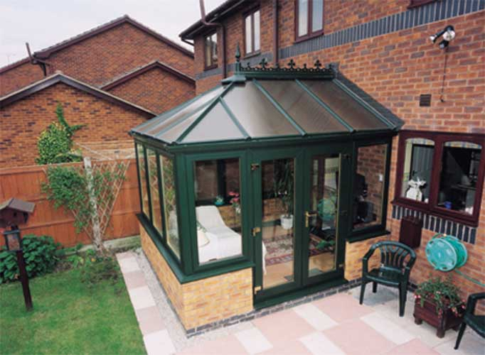 Green Conservatory in sutton