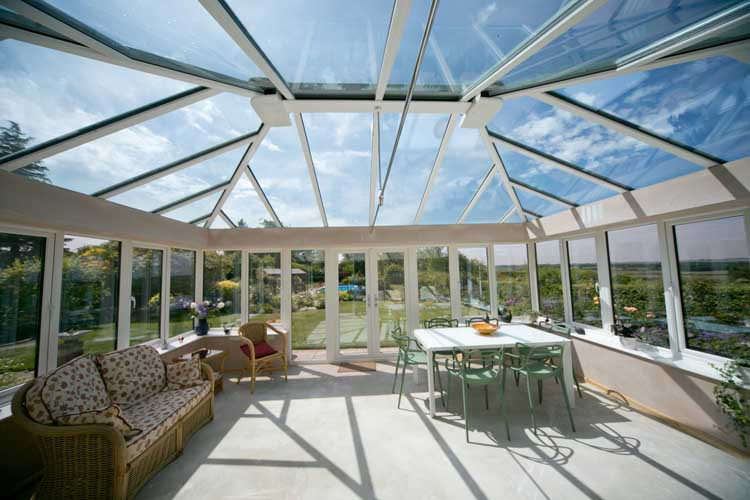 conservatory livinroof replacement Sutton