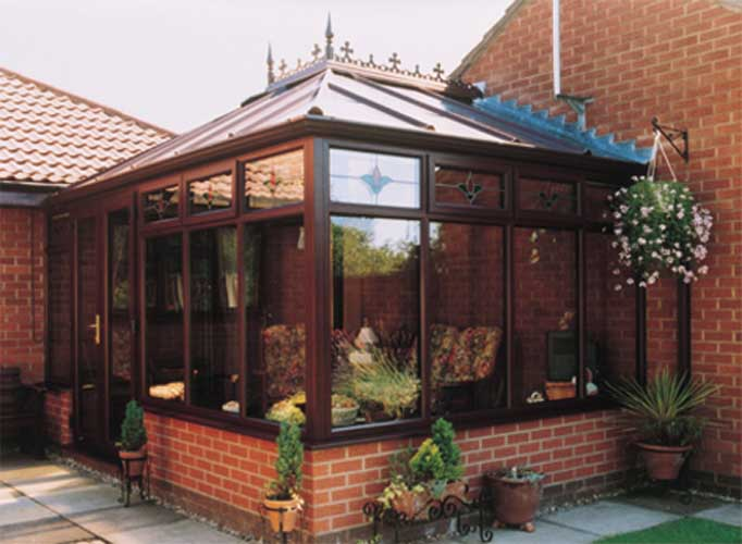Rose wood conservatory design ideas