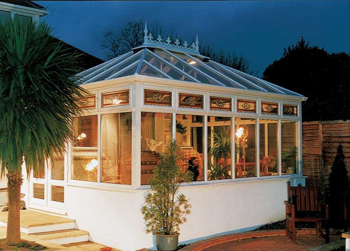 white conservatory design london