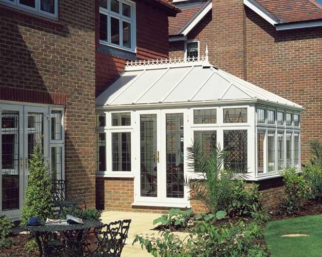 small white conservatory design ideas