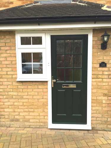 composite doors design in london