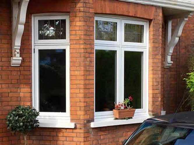 traditional flush upvc windows