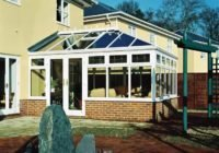 small white conservatory design