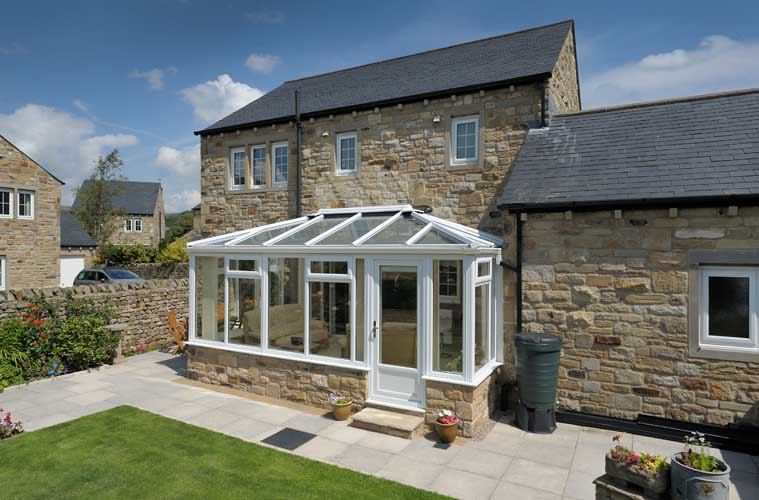 new white conservatory builders in sutton