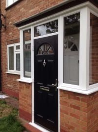 brown composite doors design london