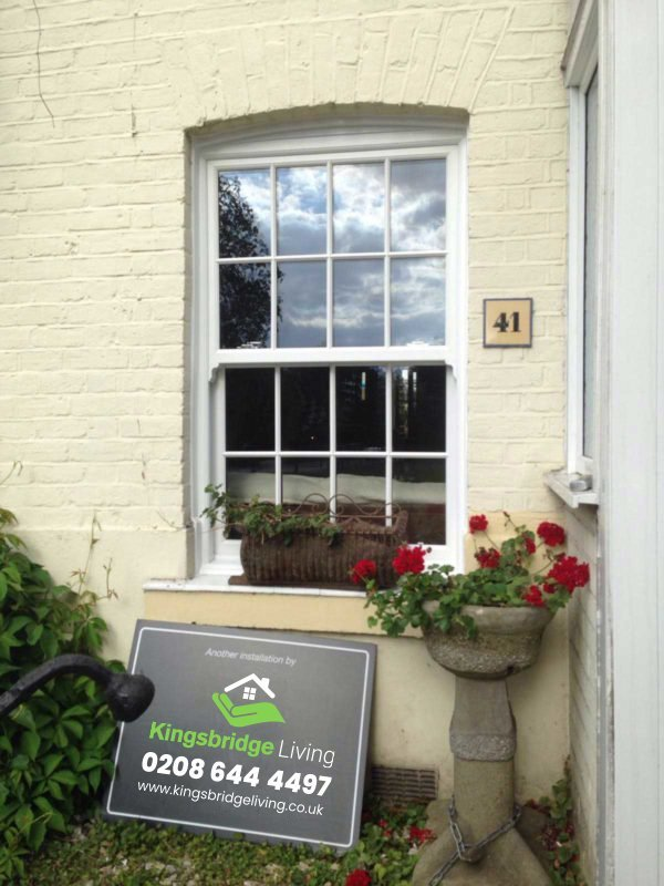 Wooden Double Glazed Sash Windows